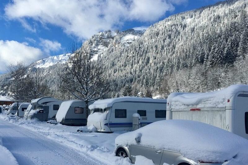 Camping Oustalet Caravaneige Haute Savoie