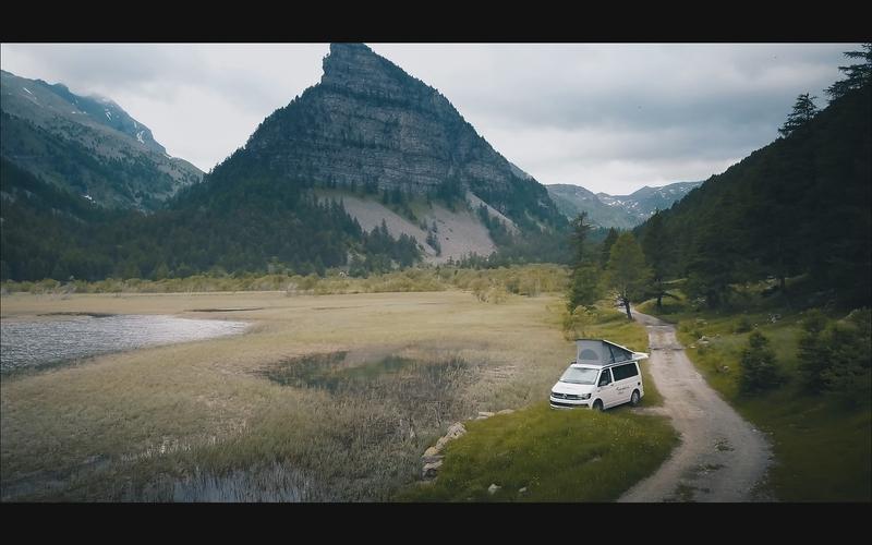 Stationner Van Camping