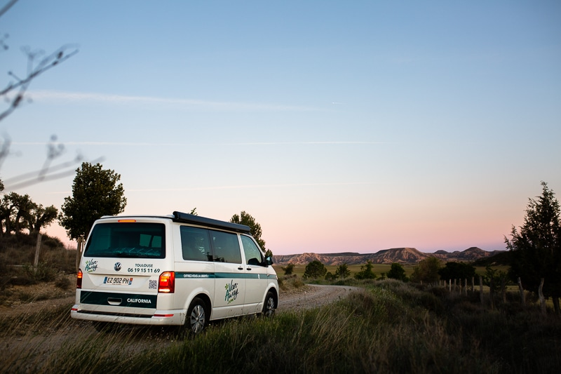 Roadtrip Bardenas En Van Amenage Vw California Van Away