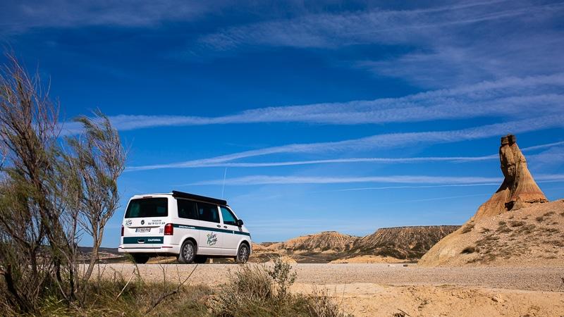 Roadtrip Bardenas Espagne Du Nord En Van Aménagé California Van Away