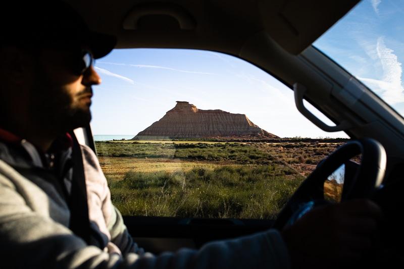 Roadtrip Bardenas Espagne Du Nord En Van Aménagé Vw