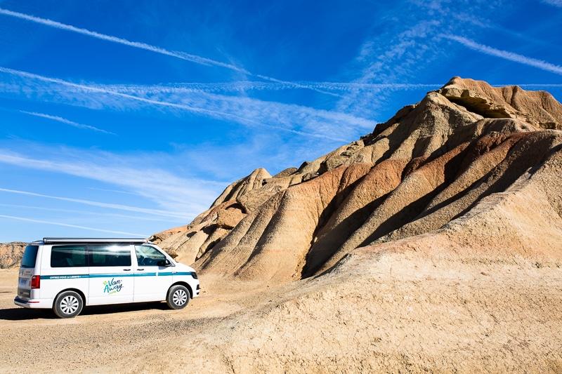 Roadtrip Bardenas Espagne Du Nord En Van California Vw