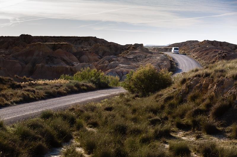 Roadtrip Désert Bardenas Espagne Du Nord