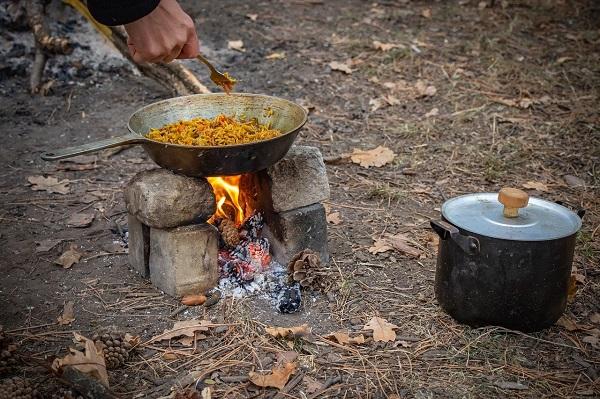 Riz Pilaf Chorizo Poivrons