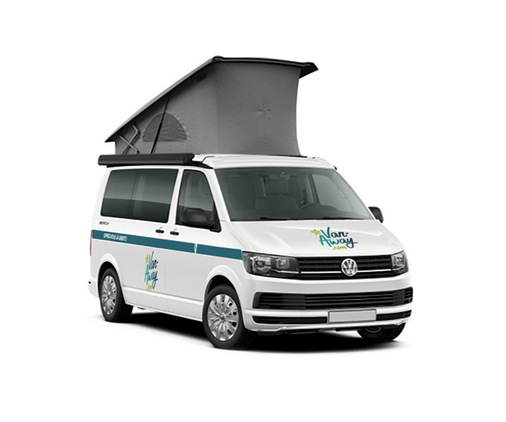 rental van volkswagen California