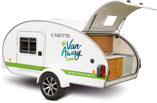 location mini caravane caretta