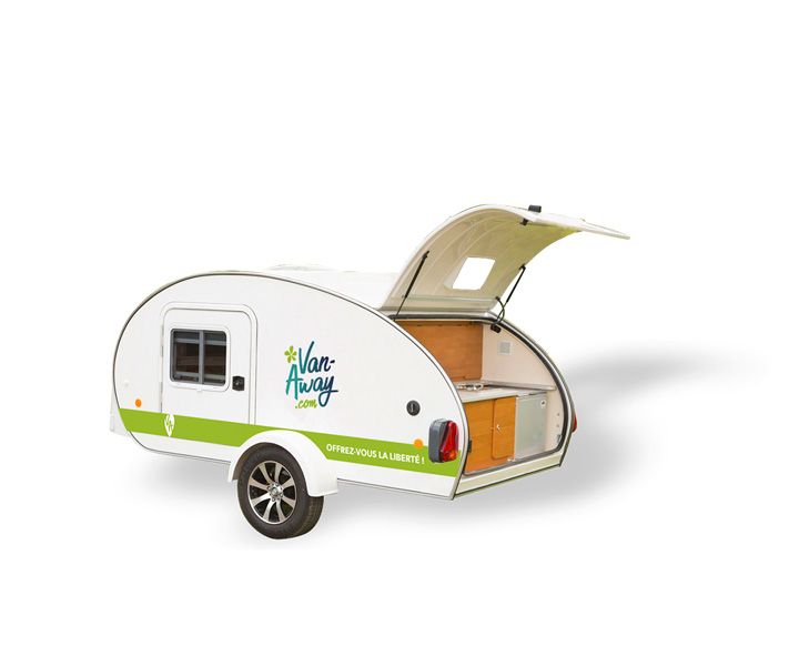 mini caravane caretta rental