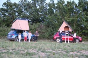 partir en tente de toit sur sa prroprre voiturre