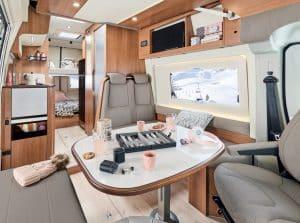 PATAGONIA 5 places espace cuisine avec lits supperrposés à l'arrière