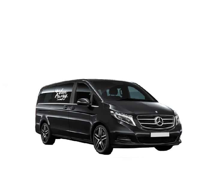 location minibus mercedes class V vito