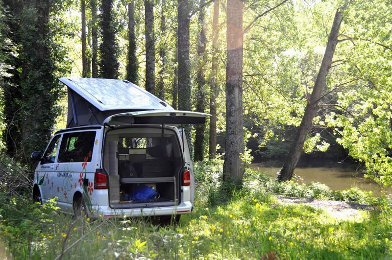 week end en van volkswagen california