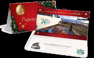 Carte Cadeau Noel 2019