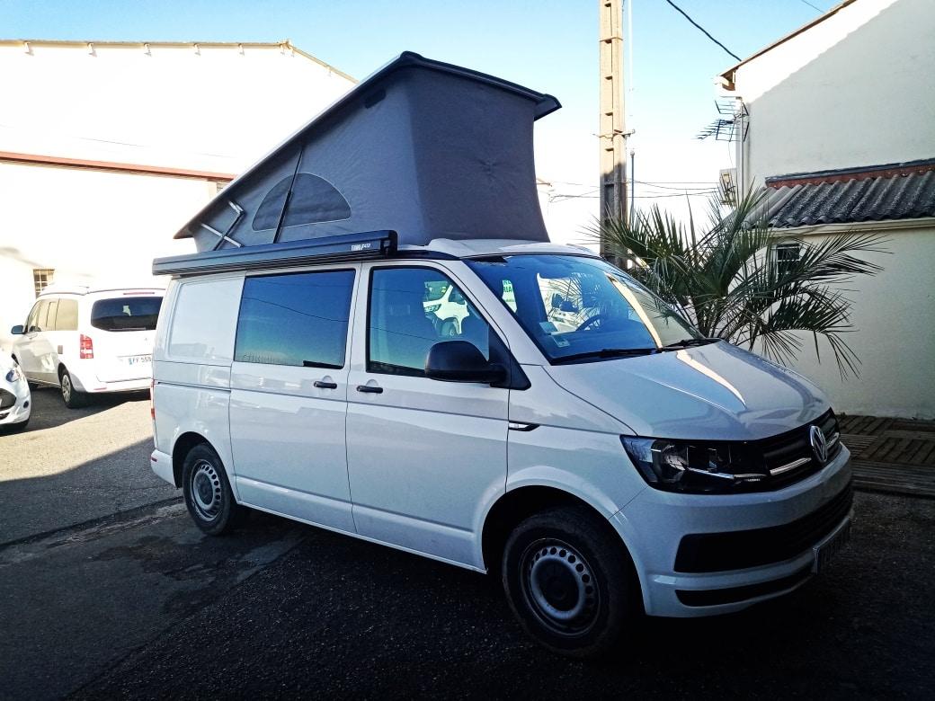 occasion Volkswagen Transporter aménagé 5 places
