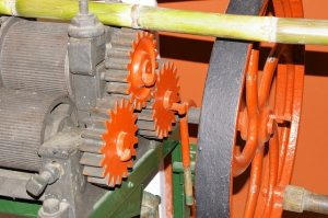 Sugarcane Machine Rhumerie Motril Andalousie En Van