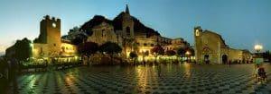 Nuit A Taormina Circuit Sicile En Van Amenage