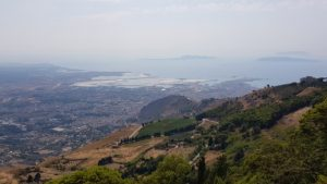Panorama Erice Sicile Roadtrip