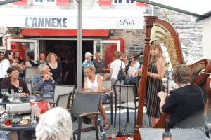 Café L'annexe à Tréhiguier Circuit Roadtrip Bretagne Van Away