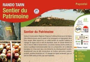 Rando Sentier Du Patrimoine Puycelsi Roadtrip Tarn Van Away