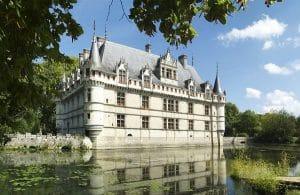 Azay Le Rideau Château De La Loire Circuit Roadtrip Van Away