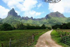 Opunohu En Van Amenage Circuit Itinerant Polynesie Moorea