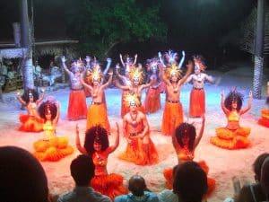 Spectacle De Danse Tahitienne Sejour Itinerant Moorea