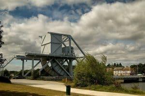 Pegasus Bridge Circuit Normandie Plages Du Débarquement En Van Fourgon Camping Car Aménagé Van Away Caen