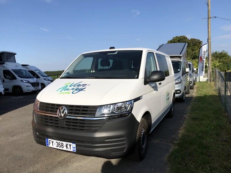 occasion volkswagen transporter aménagé